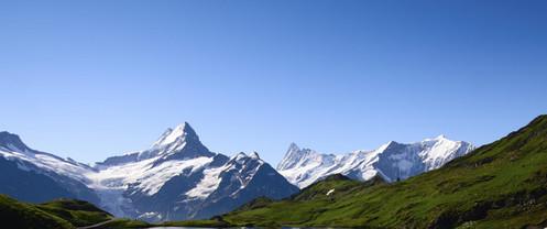 Gebirgszug Vorarlberger Rheintal
